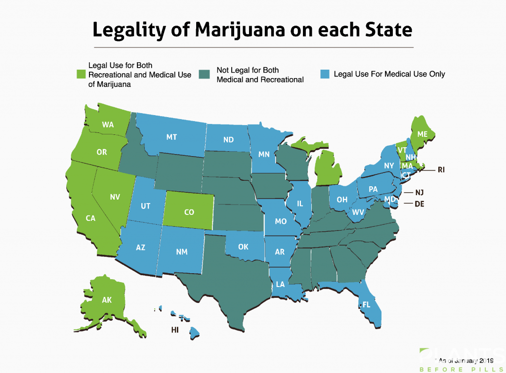 Cannabis Law on Each State