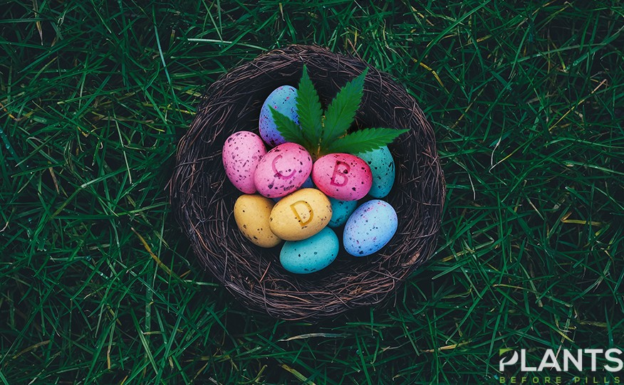 Cannabis Easter Eggs