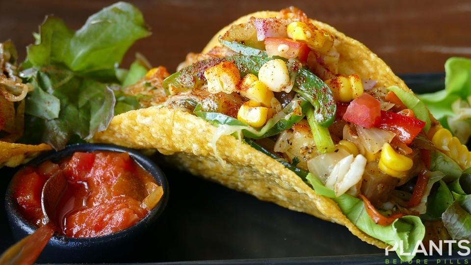 Tacos with CBD
