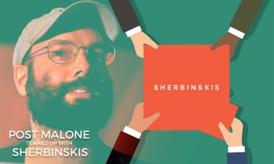 Post Malone Partners with Sherbinskis