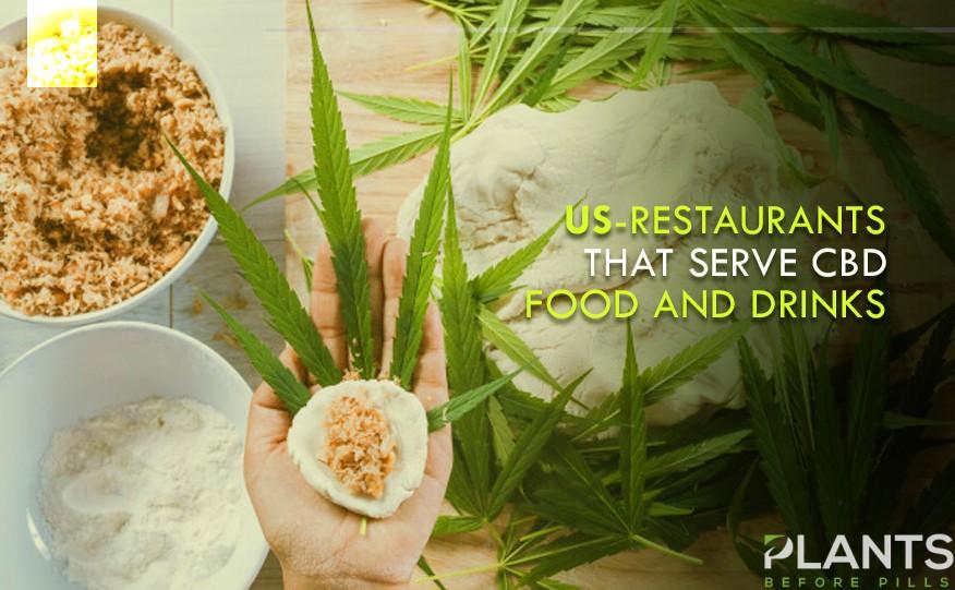 US-Restaurants that Serve CBD Food and Drinks