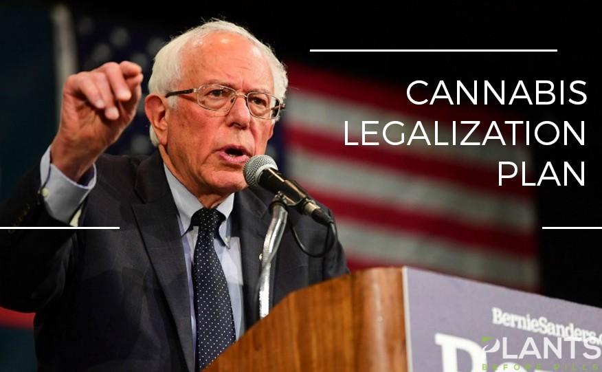 Bernie Sanders Unveils Comprehensive Cannabis Legalization Plan