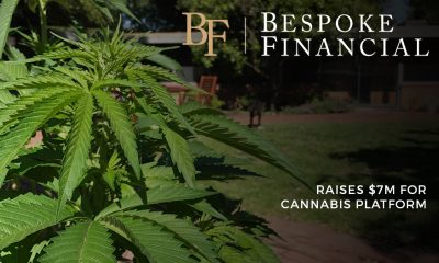 Bespoke Financial Raises $7m for Cannabis Platform
