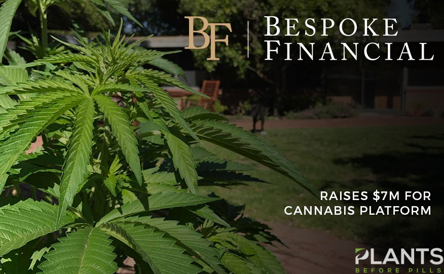 Bespoke Financial Raises $7m for Cannabis Platform