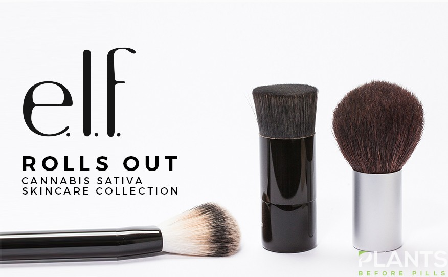 elf Cosmetics Rolls Out Cannabis Sativa Skincare Collection