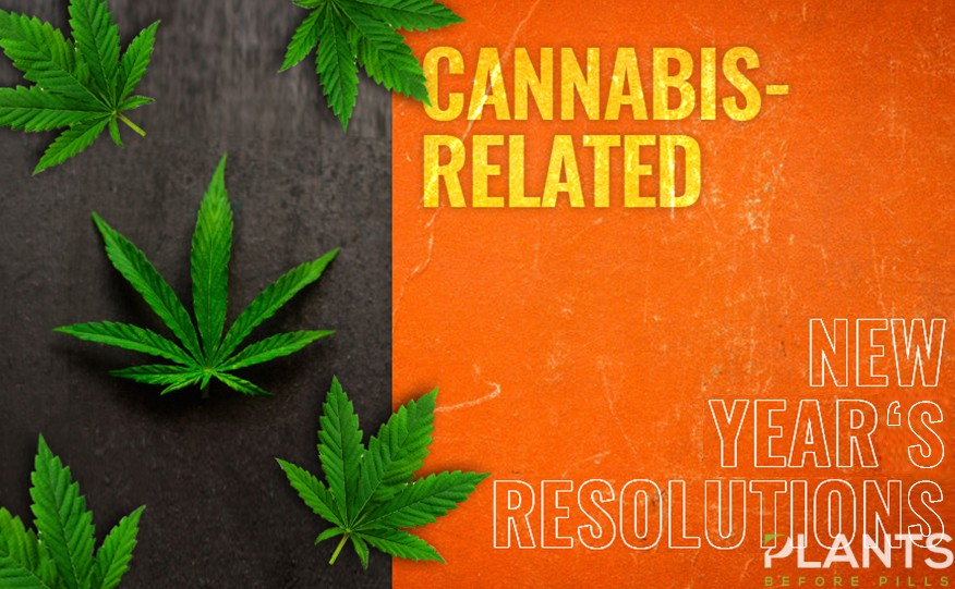 Cannabis Related New Year's Resolution