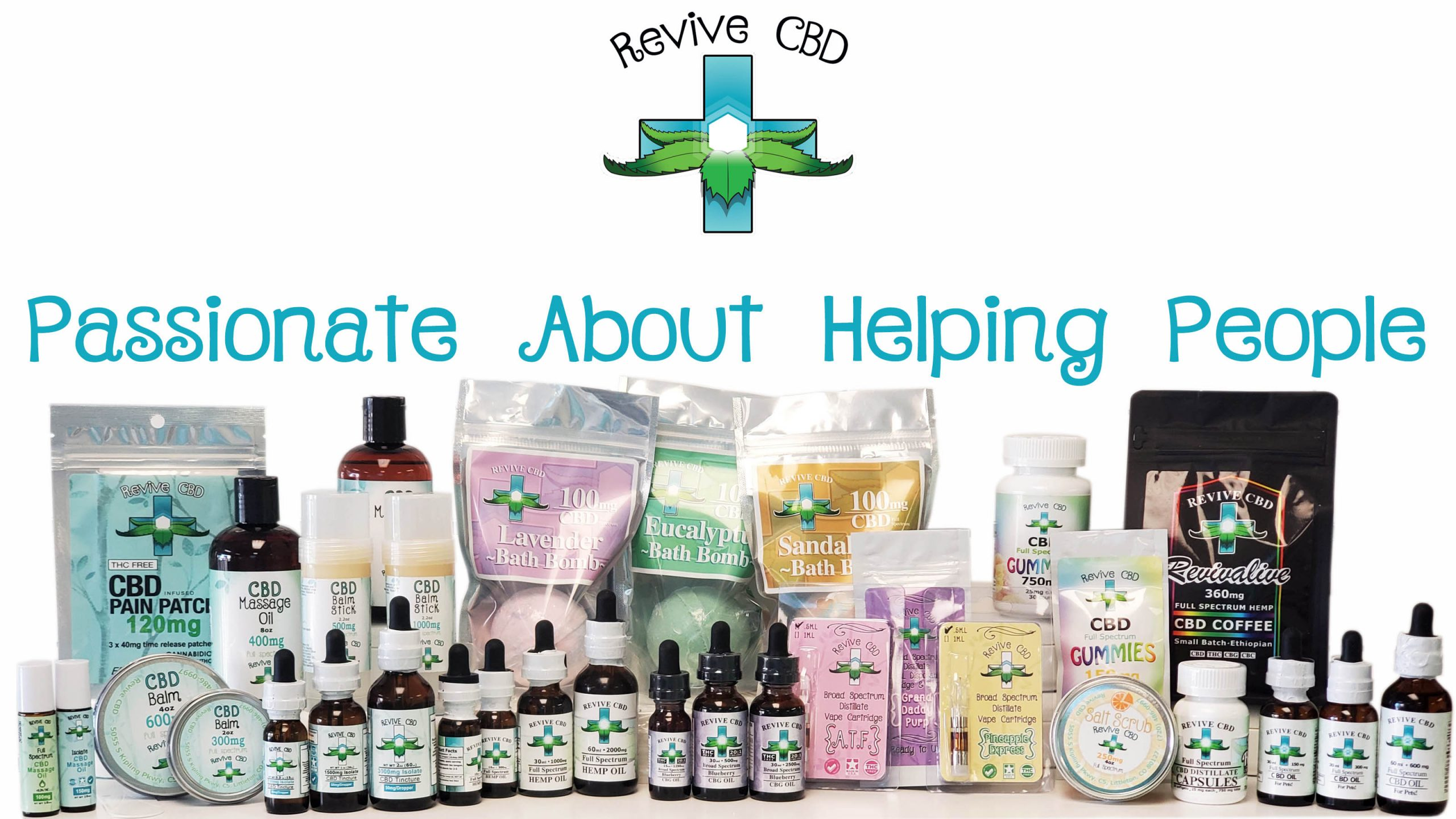 Revive CBD in Littleton, CO has the best third-party lab tested products for GREAT prices!