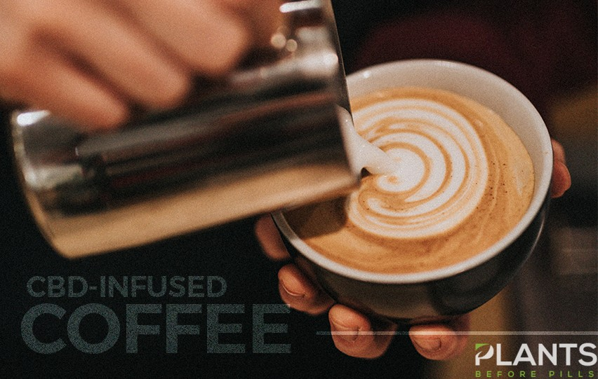 CBD-infused coffee