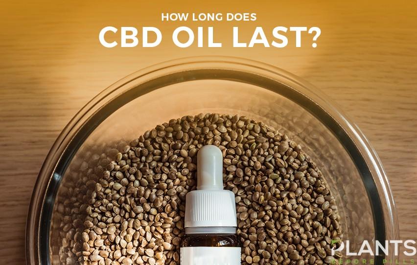 How Long Does CBD Oil Last