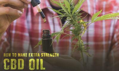 make extra strength CBD oil